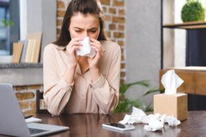 personnes allergiques aux acariens